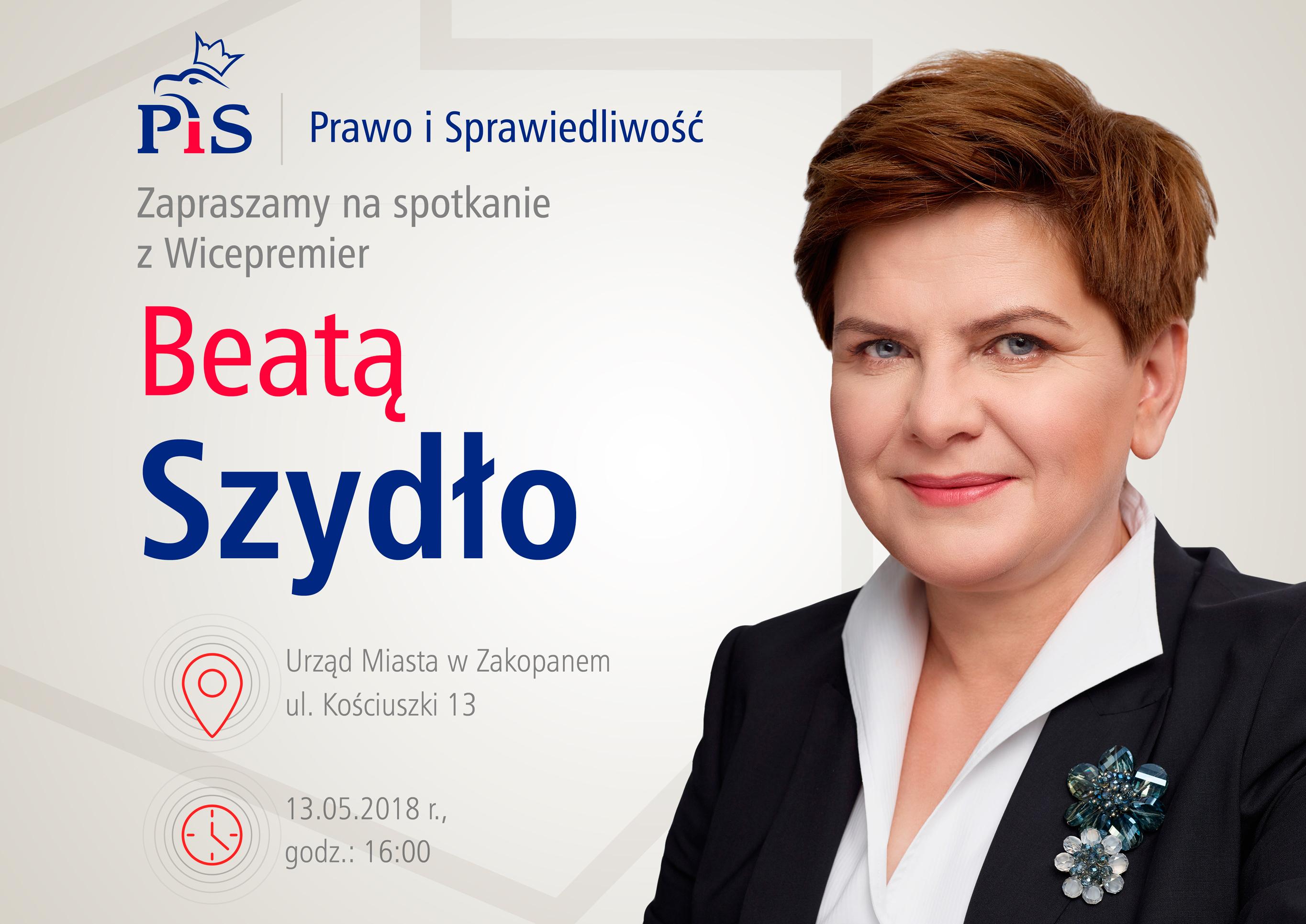 Premier Beata Szydło W Zakopanym Już W Niedzielę Mateusz
