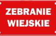 Zebranie Wiejskie w Rdzawce.